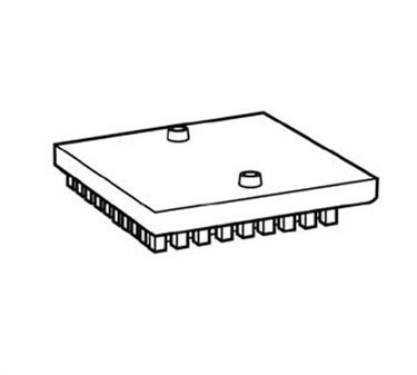 Franklin Machine Products  258-1075 Pusher Head Only (910A, )