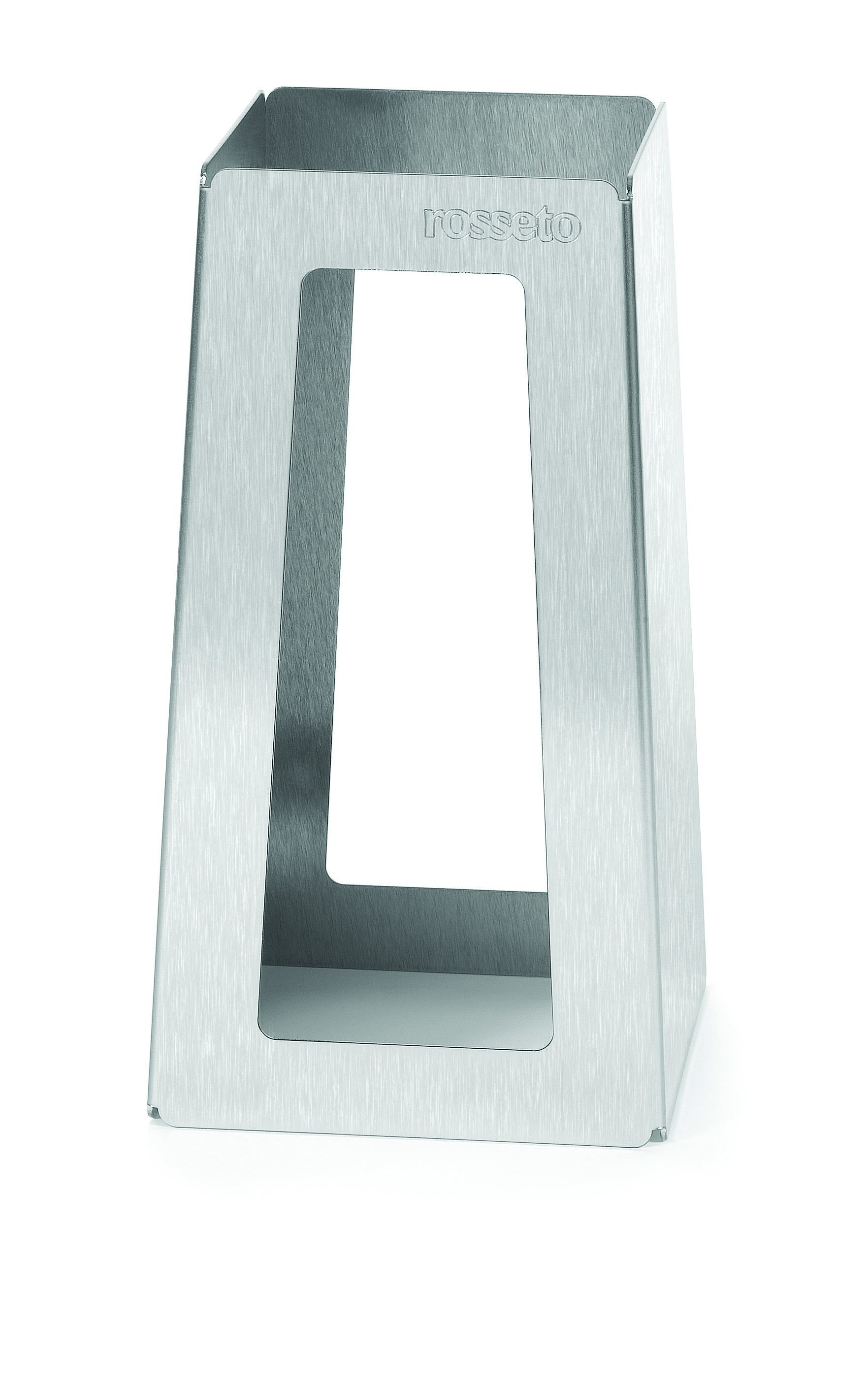 "Rosseto SM151 Stainless Steel Brushed Finish- Pyramid Riser 5"" x 5"" x 10""H"