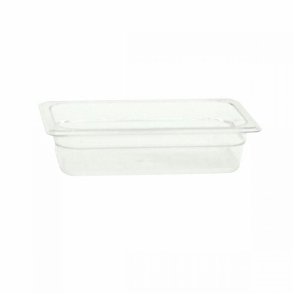 "Thunder Group PLPA8142 Qt.er Size 2 1/2"" Deep Plastic Food Pan"