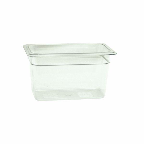 Thunder Group PLPA8146 Quarter Size Plastic Food Pan