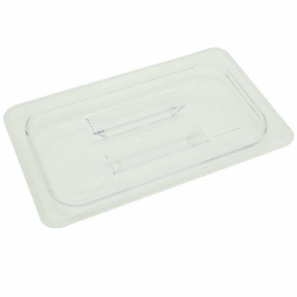 Thunder Group PLPA7140C Quarter Size Solid Cover for Polycarbonate Food Pan