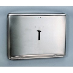 Kimberly Clark Personal Seat Toilet Seat Cover Dispenser, Stainless Steel,