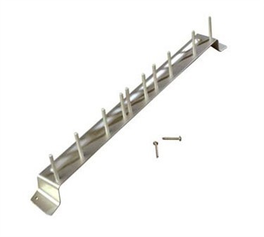 Franklin Machine Products  142-1541 Rack, Brush (Alum, 17 Long )