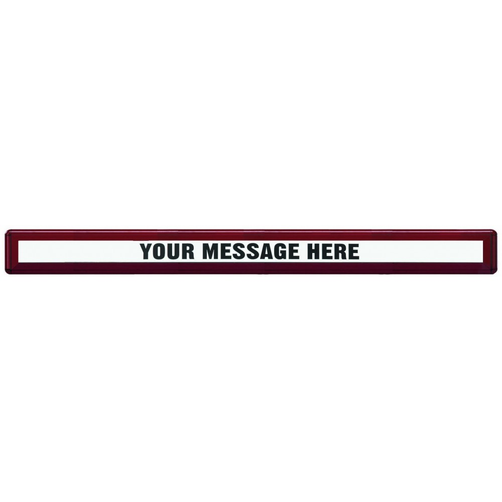 Radius Design Header - Burgundy - 72