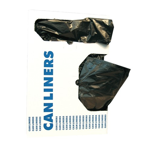 RePrime Can Liners, Black, 40 X 53, 1.5 mil