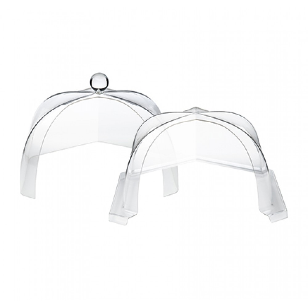 "Rosseto SA120 Honeycomb™ Medium Clear Acrylic Dome Cover 12.88"" x 14.52"" x 9.05""H"