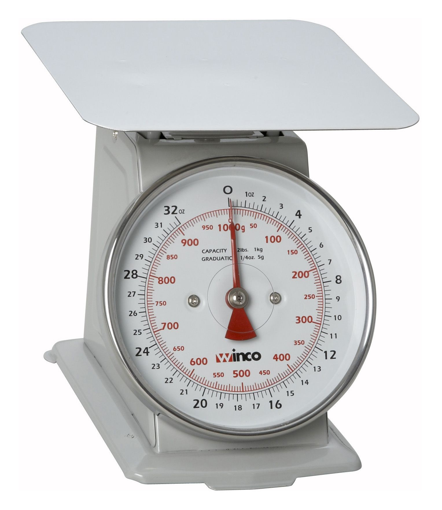 Receiving Scale With 2 Lb/1 Kg Capacity/6.5 Dial