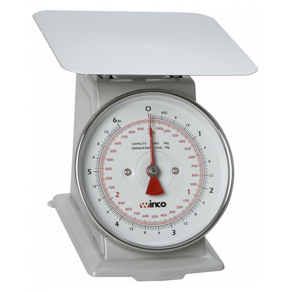 Receiving Scale With 6 Lb/3 Kg Capacity/6.5 Dial