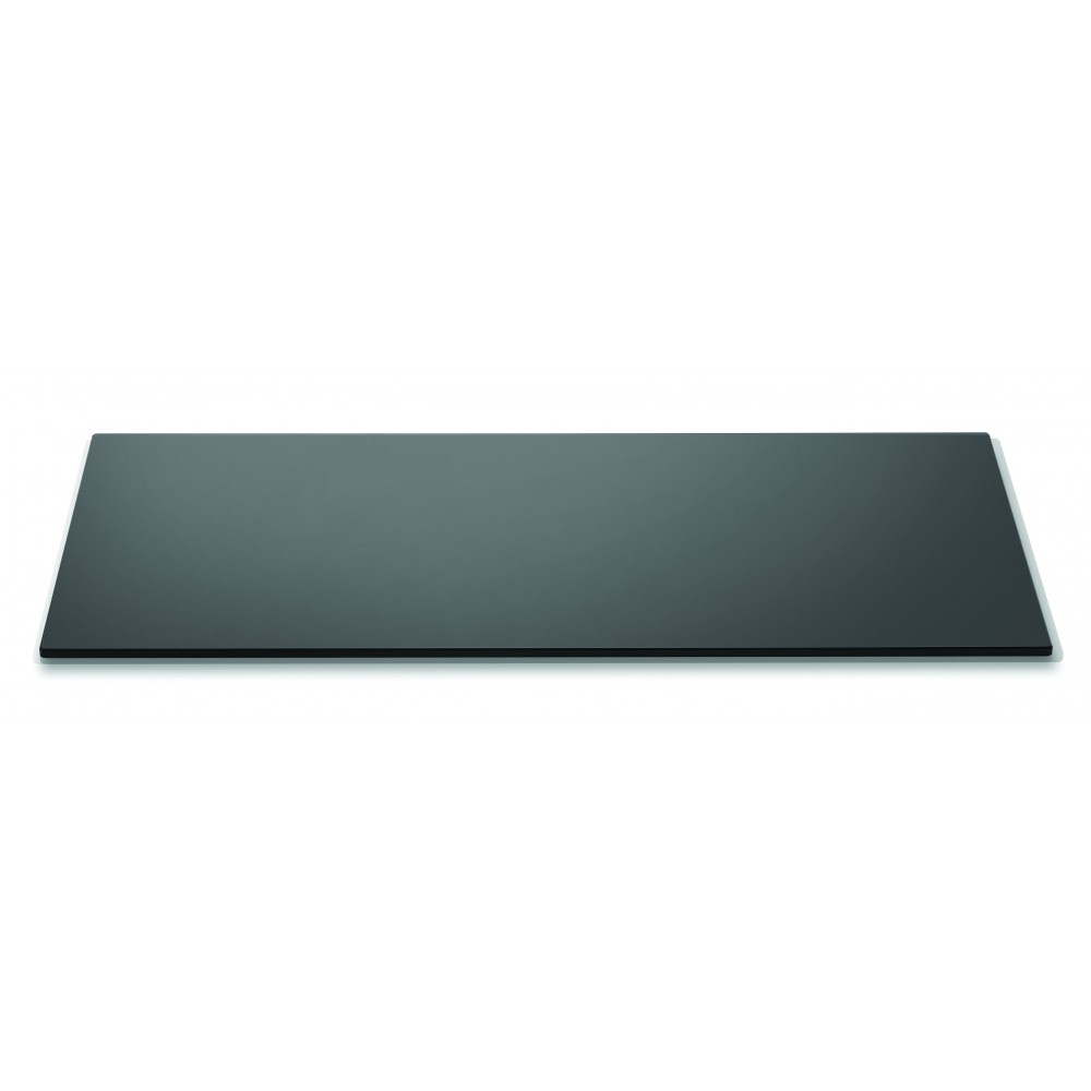"Rosseto SG018 Wide Rectangular Black Acrylic Surface- 33.5"" x 14"""
