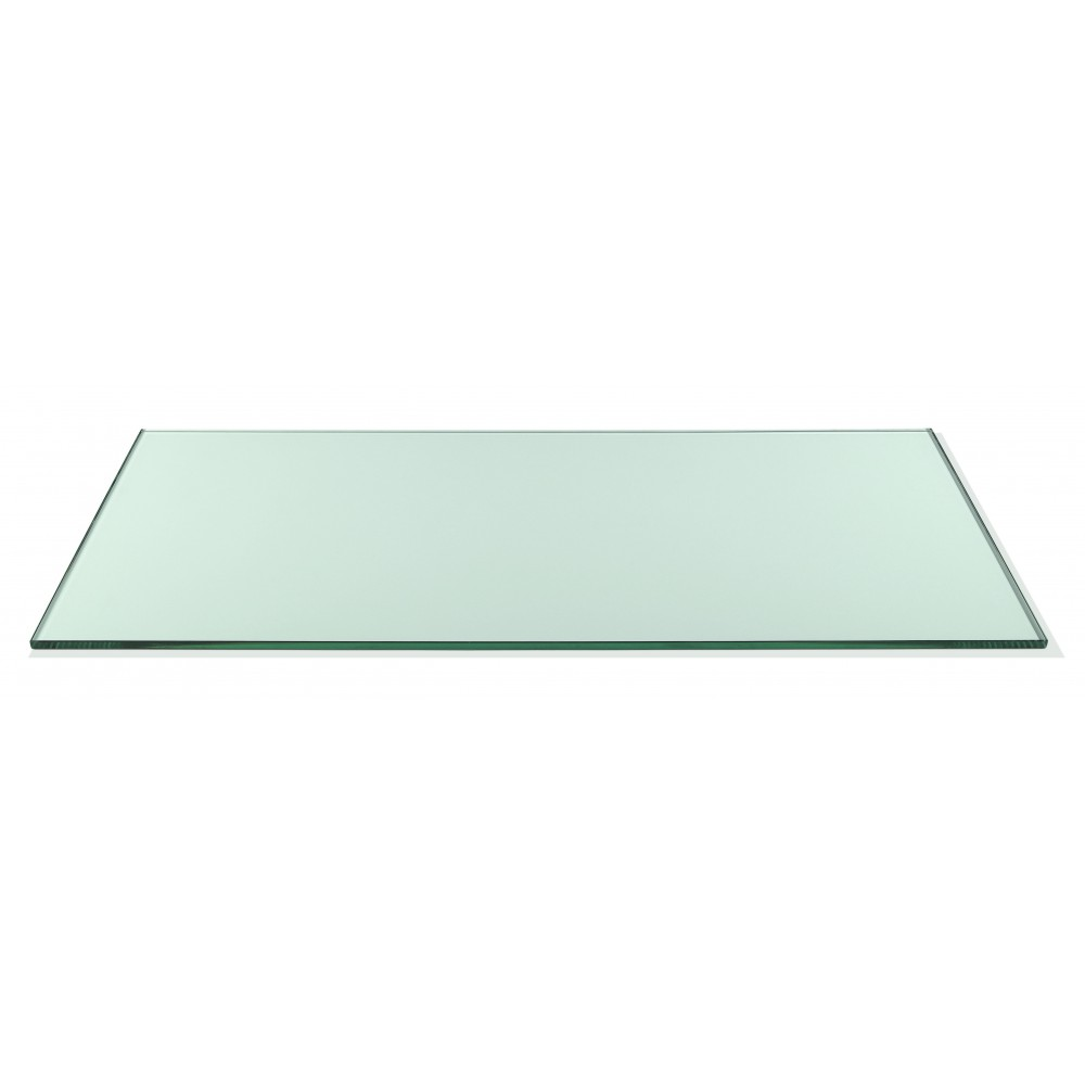 "Rosseto SG017 Wide Rectangular Clear Acrylic Surface 33.5"" x 14"""
