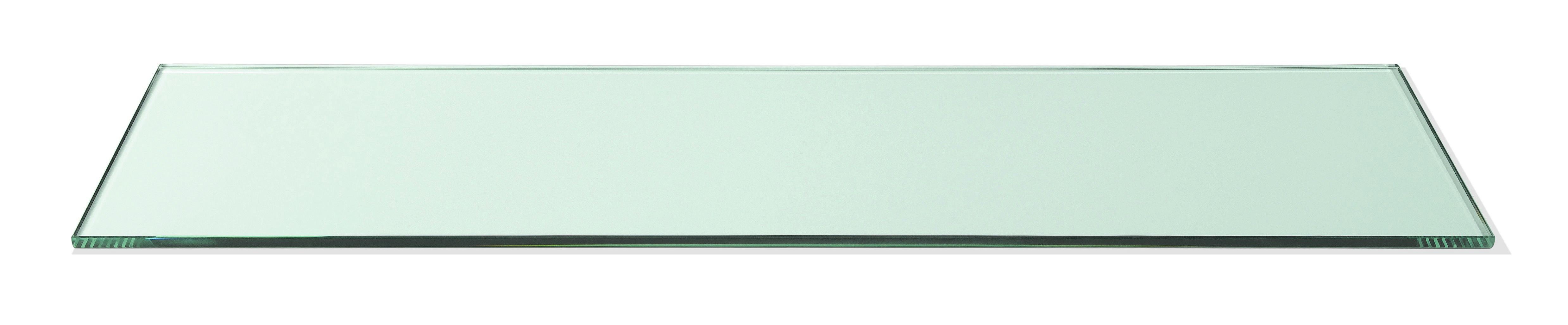 "Rosseto SG014 Narrow Rectangular Clear Acrylic Surface 33.5"" x 7.75"""
