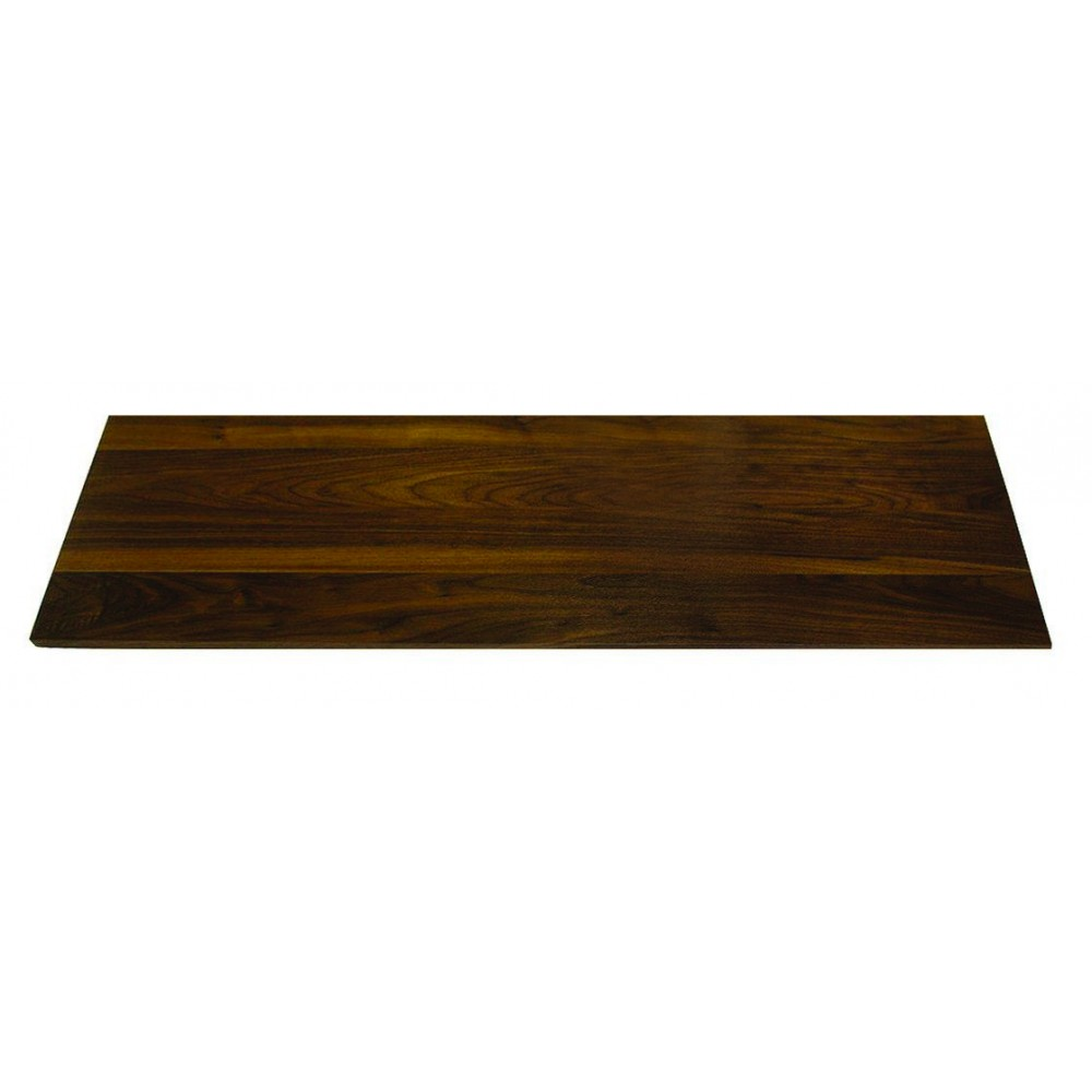 "Rosseto WP201 Narrow Rectangular Walnut Surface 33.5"" x 7.75"""