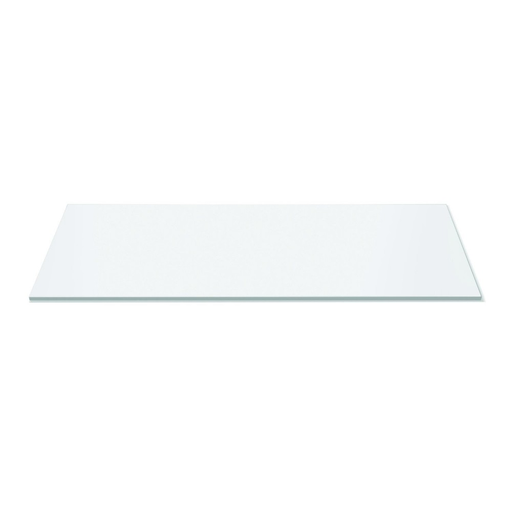 Rectangular Display Surface  White Acrylic - 33.5
