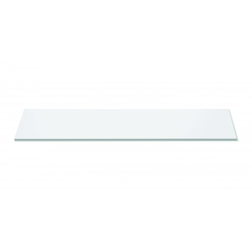 "Rosseto SG016 Narrow Rectangular White Acrylic Surface 33.5"" x 7.75"""