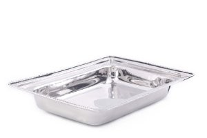 Rectangular Stainless Steel Food Pan for #683, 8 Qt.