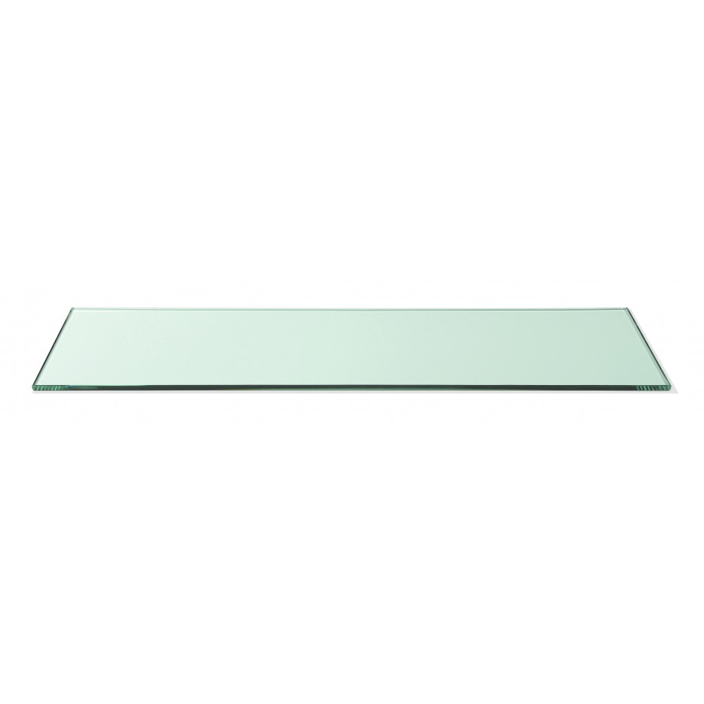 Rectangular Display Surface  Clear Tempered Glass - 33.5