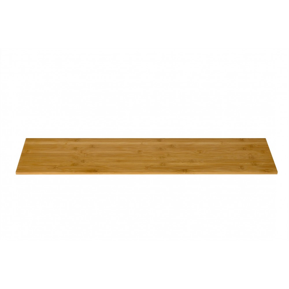 "Rosseto BP200 Narrow Rectangular Bamboo Surface 33.5"" x 7.75"""