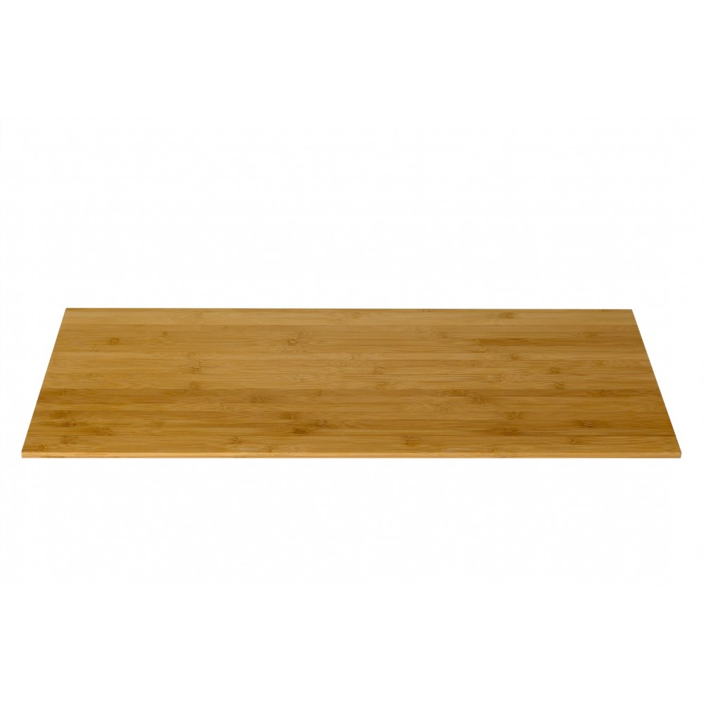 "Rosseto BP100 Wide Narrow Rectangular Bamboo Surface 33.5"" x 14"""