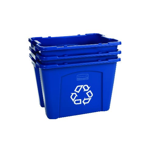 Recycling Trash Box, 14 Gallon