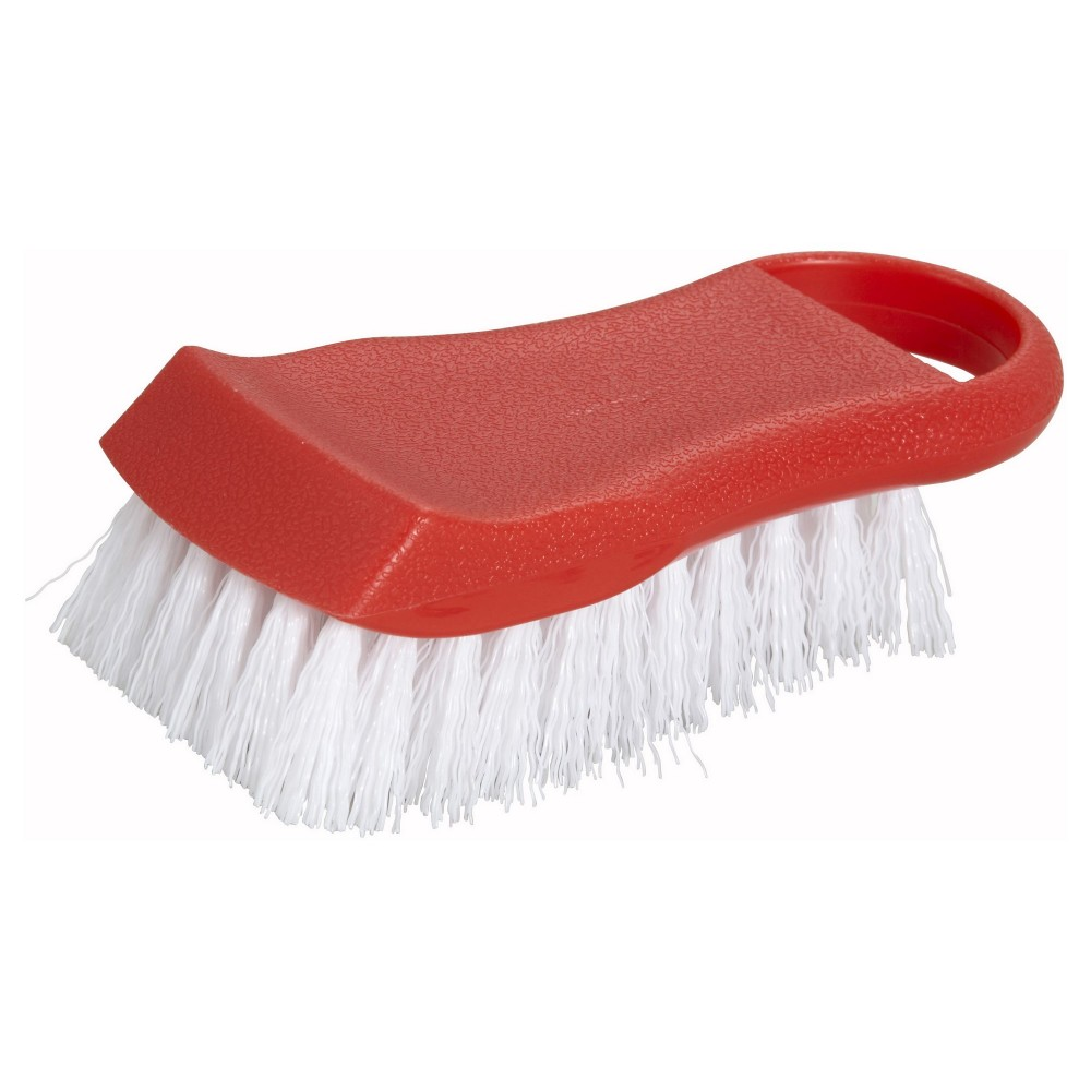 Winco CBR-RD Red Cutting Board Brush