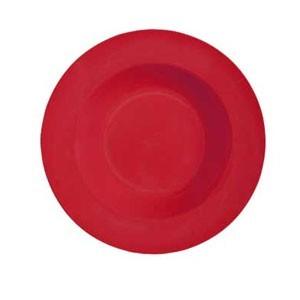 Red Melamine 16 oz. (25.8 oz. Rim-Full), 11.25