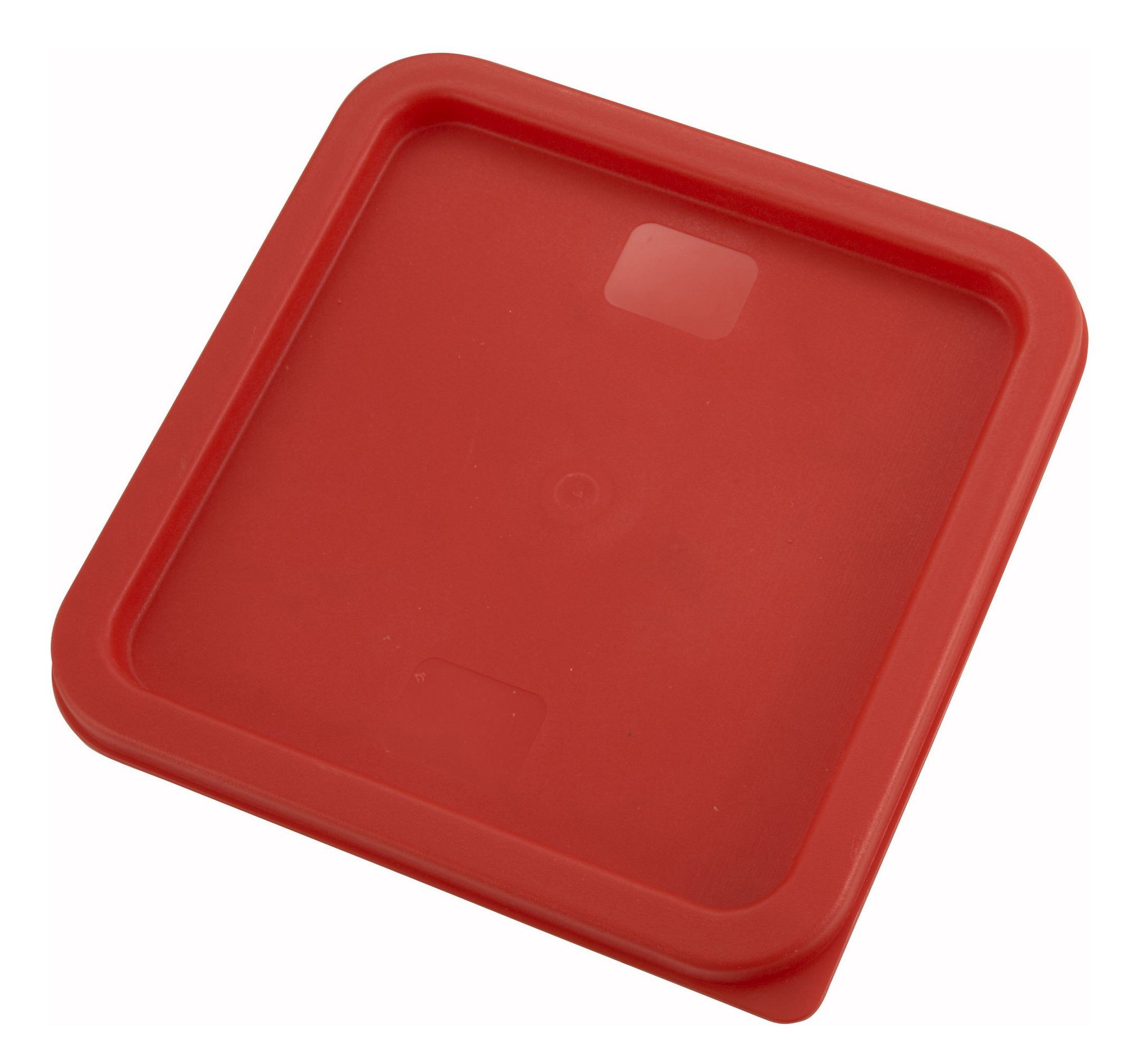 Winco PECC-68 Red Container Cover fits 6 and 8 Qt. Square Containers