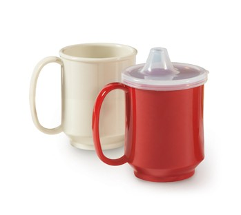 G.E.T. Enterprises SN-104-RSP Red Sensation Tritan 8 oz. Single Handle Mug
