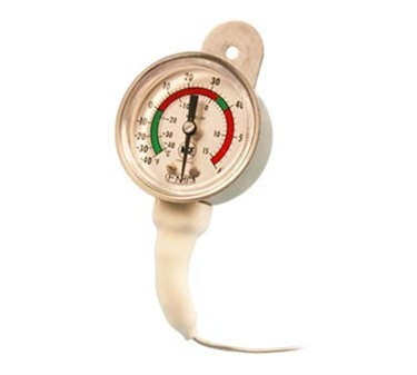 Refrigerator/Freezer 2-Dial Thermometer - -40 To 60F
