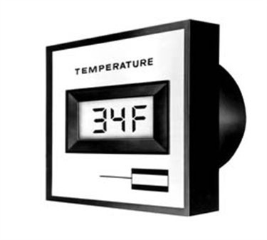 Refrigerator/Freezer Digital Thermometer - -70 To 200F