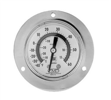 Franklin Machine Products  138-1017 Refrigerator/Freezer Thermometer-40°to 60°F