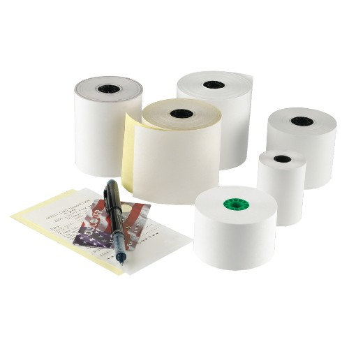 Registroll 44Mm White Bond 1 Ply Register Roll Tape