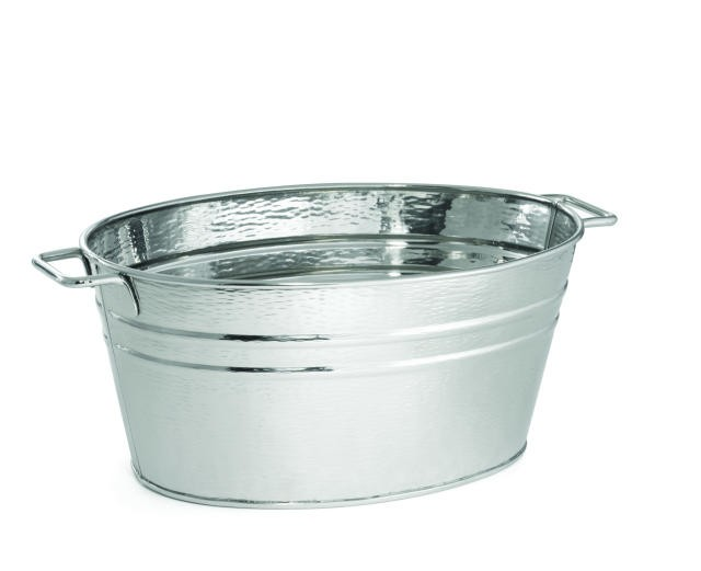 Remington Oval Stainless Steel Wine Tub - 22-1/2