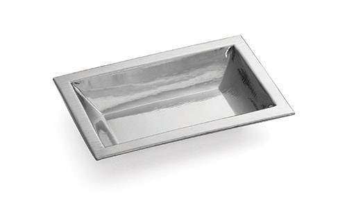 Remington Rectangular Stainless Steel Bowl - 11-1/4