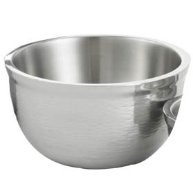 TableCraft RB9 Remington Round Double Wall Stainless Steel Bowl, 3-1/4 Qt.