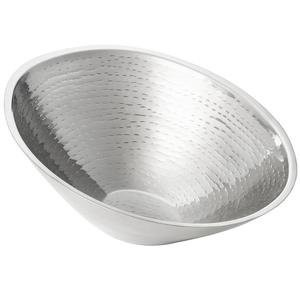 TableCraft RB1310 Remington Sloped Double Wall Stainless Steel Bowl, 1.8 Qt.