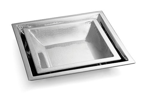 Remington Square Stainless Steel Bowl - 15-1/2
