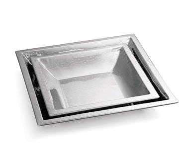 "TableCraft rb1919 Remington Square Stainless Steel Bowl 19-1/2"" x 3"""