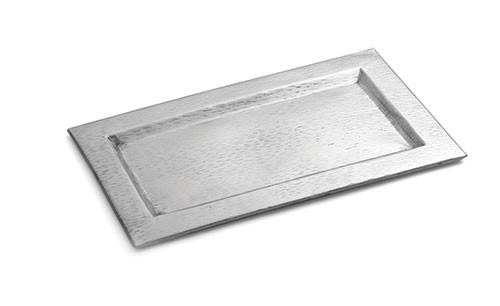 """TableCraft R169 Remington Collection Stainless Steel Rectangular Tray 15-1/2"""" x 9-1/4"""""""