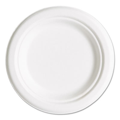 Renewable & Compostable Sugarcane Plates Convenience Pack, 6