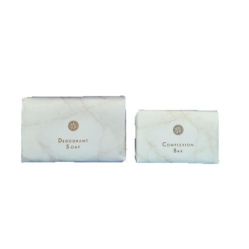 White Marble Guest Amenities Dial Deodorant Soap 1.5 oz. 500 Bars