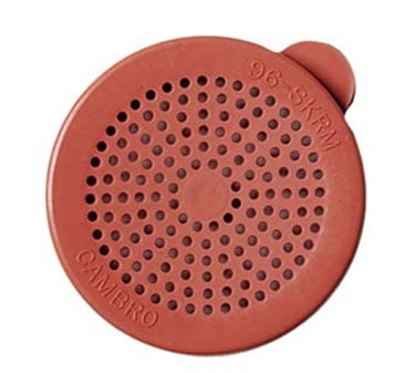 Franklin Machine Products  247-1180 Replacement Rose Medium-Ground Lid for Salt/Pepper Shaker