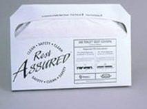Rest Assured 25Ra Toiletseat Covers 10/250