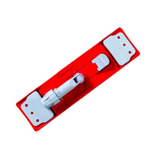 Restroom MopHolder with Red Nylon Head, 16