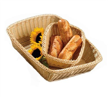 Ridal Hand-Woven Natural Rectangular Basket - 19