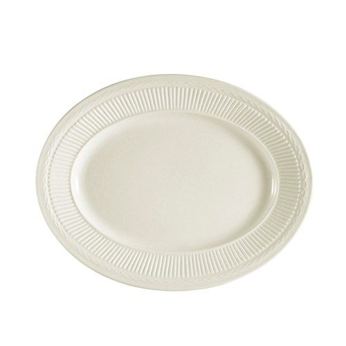 "CAC China RID-12 Ridgemont Oval Platter, 9-1/4"" x 7"""