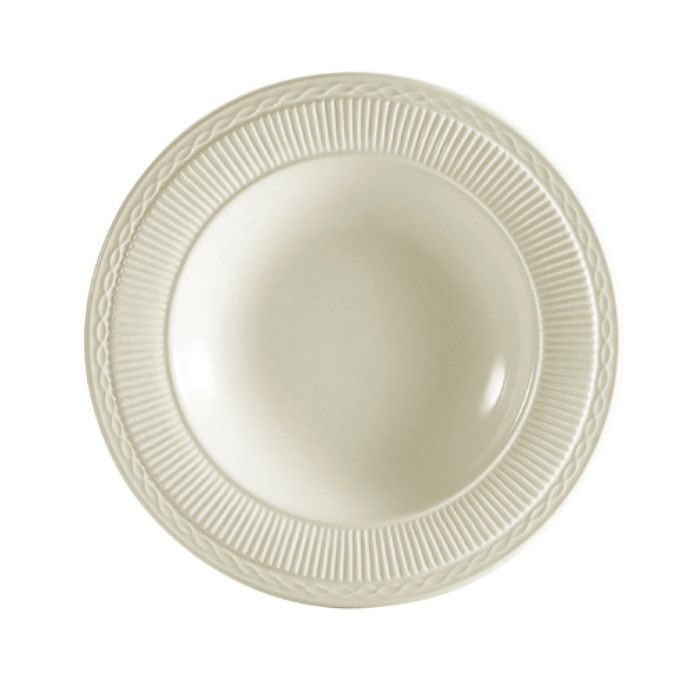 CAC China RID-3 Ridgemont Soup Plate, 9 1/2""