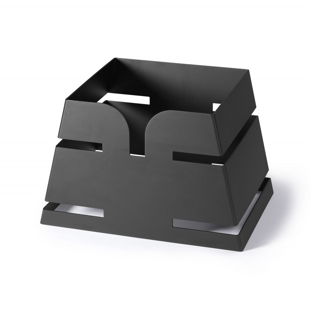 "Rosseto LD138 Small Pyramid Black Matte Skycap Riser 10.35"" x 7"" x 6.5""H"