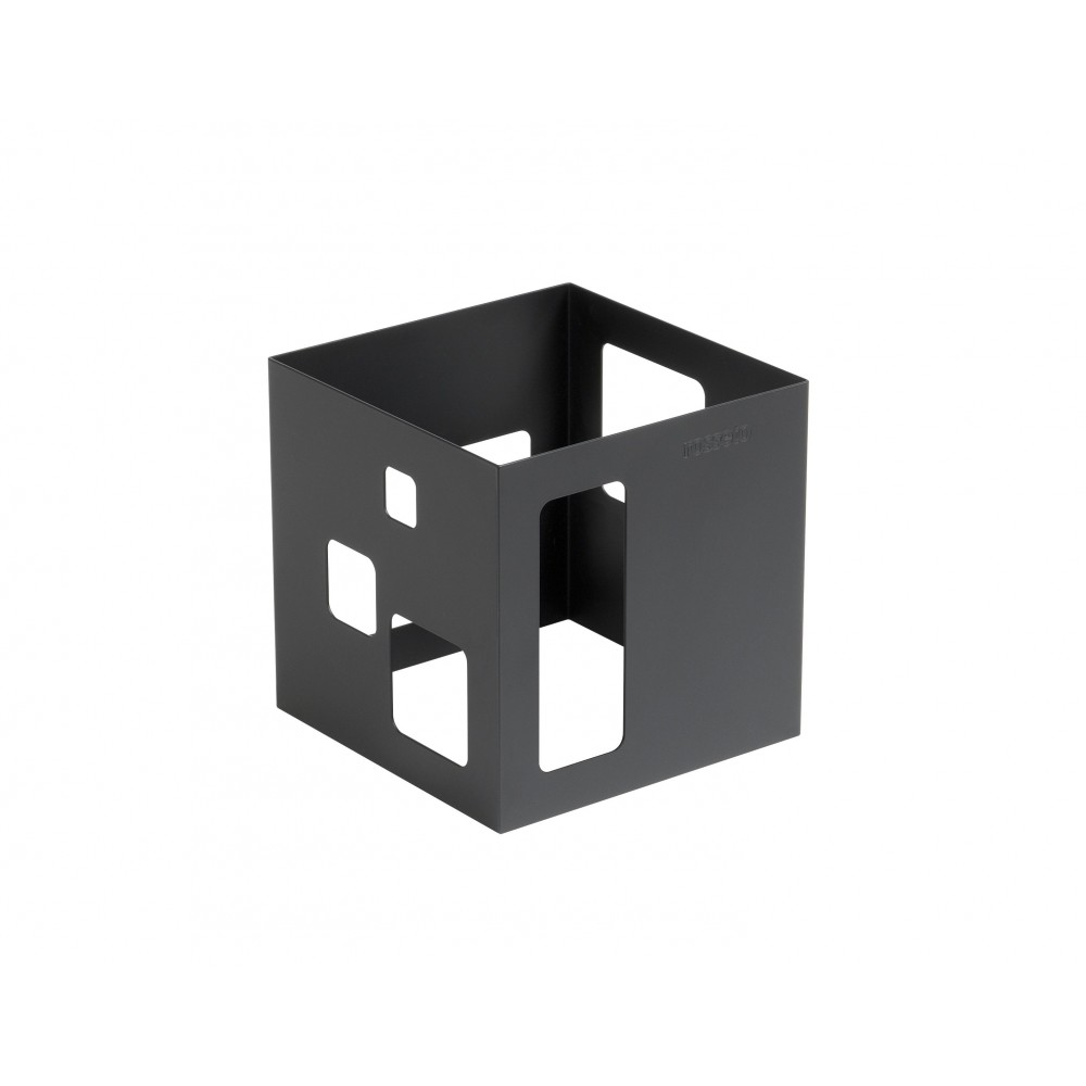 Riser- Square with a Black Matte Powder Coated Steel Finish- 7