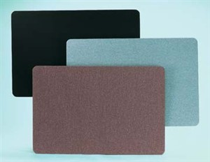 """Aarco Products RF4860 Ritz Radius Wrapped Fabric Bulletin Board (Choice of Colors),  60""""W x 48""""H"""