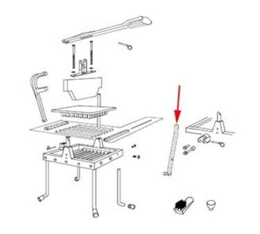 Franklin Machine Products  215-1167 Rod, Safety Pivot